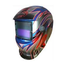 Gran vista Casco de soldadura de oscurecimiento automático casco de molienda con AS / NZS aprobado