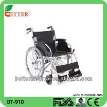 Cadeira de rodas do paciente de alumínio