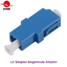 LC Simplex Singlemode Standard Kunststoff Faseroptik Adapter