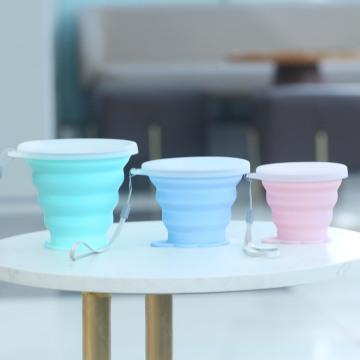 Wiederverwendbare umweltfreundliche Kaffeetasse mit Deckel Bpa Free High Cost Performance