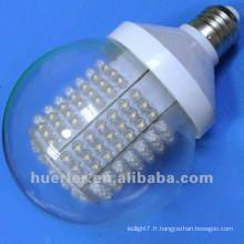 2014 alibaba best seller 100-240V 220v 110v 24v 12v b22 e26 e27 10w couvercle clair ou dépoli grandes ampoules rondes