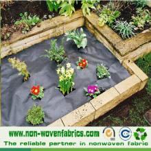 Tela de tela no tejida para control de malas hierbas (sol)