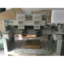 2 Heads Domestic Commercial Computer Embroidery Machine for Cap and Flat and Garments Embroiery