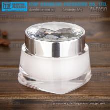 YJ-TA50 50g heiß-Verkauf Neuheit Doppelschichten 50g Diamant Kristall Acryl Glas
