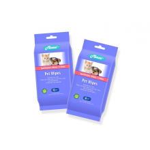 Nicht reizende Hautpflege für Haustiere, die feuchte Tücher reinigt