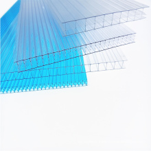 Wholesale price Strong and stable  high quality transparent Anti-UV X-structure hollow polycarbonate sheet for skylight