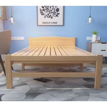 Fabricante de cama de madeira mais recente projeta lençóis de cama dobrável