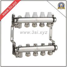 Segregador de água de aquecimento de piso de qualidade com medidor (YZF-M807)