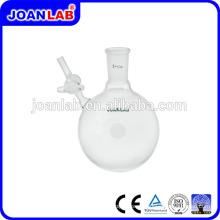 Frasco de reação de vidro LABAN de JOAN LAB com fornecedor de batente reta lateral