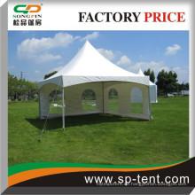 Pavillon-Zelte 5x5m mit PVC-Wand und transparenten Fenstern