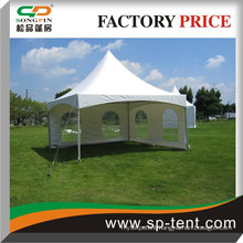 pavilion marquees 5x5m with PVC wall and transparent windows