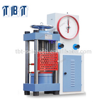 T-BOTA Good quality With Dial Gauge Concrete TYE-2000 Compression Testing Machine for concrete