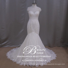 Vestido de noiva de sereia vestido de casamento de sereia roma Casaco de manga alta