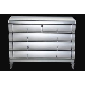Gabinete de vidrio de muebles modernos de diseño nuevo (AM211)