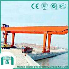 Grúa pórtico de doble haz con capacidad de 10 toneladas