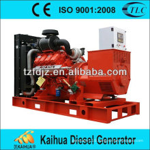 CE approved 250kw scania open type diesel generator sets