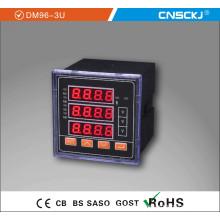 2014 Newest Three Phase Four Lines Three Phase AC Voltmeter Dm96-3u