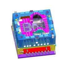 Nouveau moule en plastique fait sur commande de conception pour des pièces électroniques