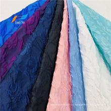 Цветочная парча Металлическое свадебное платье Жаккардовая ткань Abaya