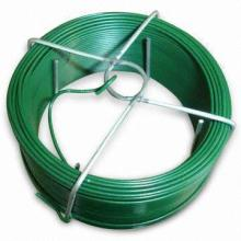 pvc coated green colour wire