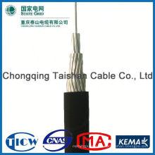 ¡Fuente profesional de la fábrica !! Cable de caída de servicio de conductores de aluminio de alta pureza