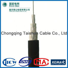 Professional Factory Supply!! High Purity aluminum conductor service drop cable