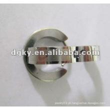 Dongguan atacado personalizado em aço inoxidável Duplo brinco tamanhos do indicador do brinco