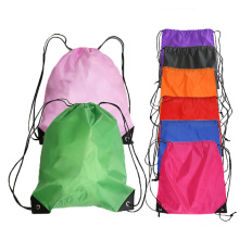Wholesale Promotion recycled Nylon Drawstring Bags Waterproof outdoor large Polyester Drawstring Bag