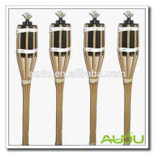 Audu 4 FT Garden Use Handmade Bamboo Torch/Torch For Home Use
