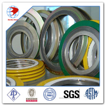 Spiral Wound Gasket ASME B16.20 Ss316/Graphite with CS Outer Ring Material Gaskets
