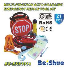 21PCS Roadside Emergency Kit for Auto