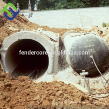 pneumatic tubular forms used for making precast elements