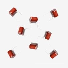 Metallisierter Polyesterfilmkondensator Mkt-Cl21 15UF 5% 100V für Impulse