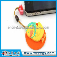 OEM cute pvc cleaner dust plug for promotion