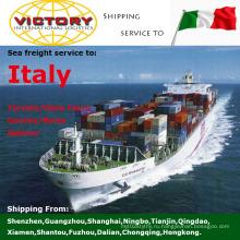 Морские контейнерные перевозки Доставка из Китая в Италию