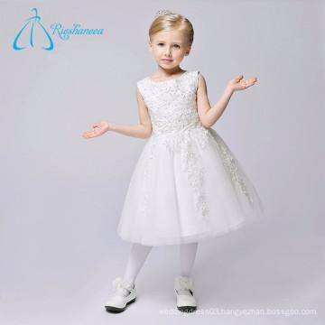 Beautiful Wholesale Modern Simple Flower Girl Dresses White