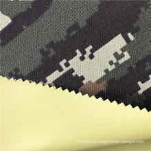 Tejido militar de camuflaje de poliéster ignífugo