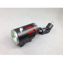 Luz llevada de la bici 1000LM recargable 1x Cree xml t6 llevó la luz para la bici eléctrica