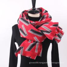 Wholesale Women New Fashion Long Shawl Letters Print Pashmina Shawl Scarf Super Soft Warm Scarves