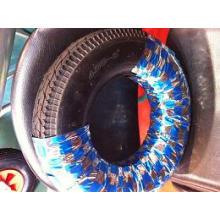 Neumático de la carretilla 350-8 / rueda de goma para la carretilla / las ruedas neumáticas para la carretilla de rueda