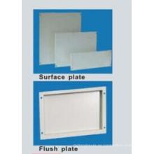 Mdp placa frontal en blanco para Ar9 gabinete de piso de metal