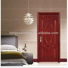 Puerta de dormitorio con diseño de panel oval, diseñador de moda Puerta de madera de Sunmica, puertas de madera Ganesh más populares