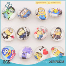 Colored plastic and metal button snaps,snap button jewelry