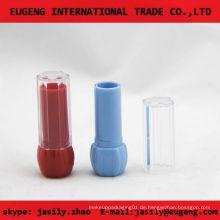Klarer leerer Plastiklippenbalsambehälter