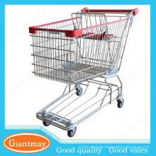 107L good quality Zine plated shopping cart