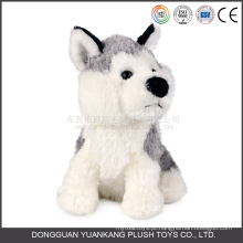 Brinquedo de cachorro de pelúcia realista latindo recheado