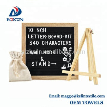 Fabrik Großhandel 10x10 zoll Veränderbar Filz Brief Board für Dekoration