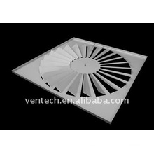 difusor para ventilação do redemoinho