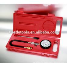 herramientas neumáticas de 2 piezas kit de detector de compresión único de kit de herramienta de reparación de coche