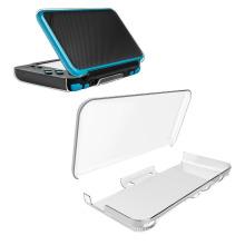 Capa de proteção rígida protetora anti-arranhões Capa de cristal transparente para Nintendo New 2DS XL ll